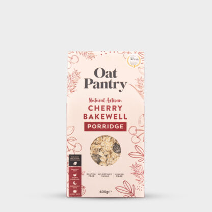 Cherry Bakewell Porridge