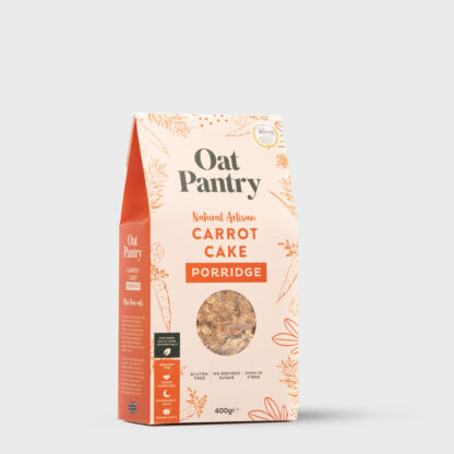 Carrot Cake Porridge Side