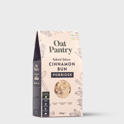 Cinnamon Bun Porridge Side