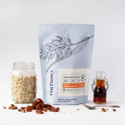 Oat Pantry Maple & Pecan Porridge