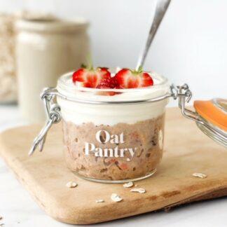 Oat Pantry Overnight Oats Jar